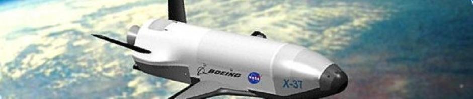 x37B spaceplane