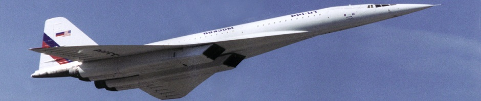 Tu-144L Supersonic Laboratory