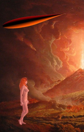 Vesuvius spaceship woman 2