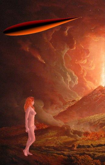 Vesuvius spaceship woman