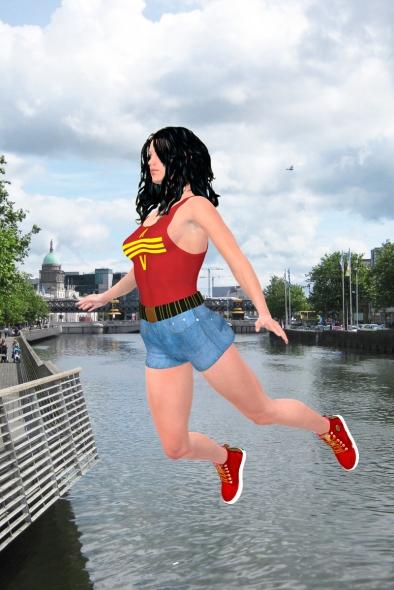 Anna over Dublin