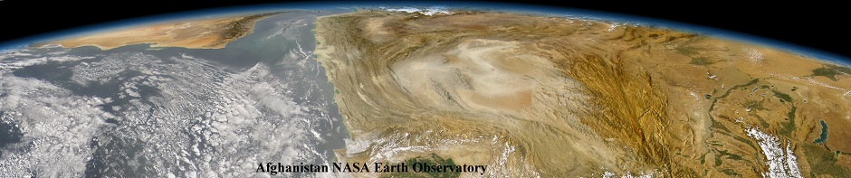 Afghanistan NASA Earth Observatory CROPPED RESIZED